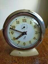 More details for vintage jaz mechanical alarm clock in excellent working order from the 1940s.