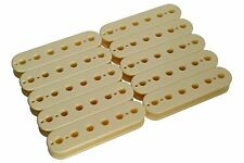 Humbucker Slug Side Pickup Bobbin Cream 50mm 10pk for pickup makers
