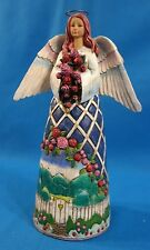 """Jim Shore Heartwood Creek """"Guardian of the Garden and Flower"""" 11407"""