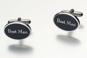 Bridal Party Cufflinks Set Groom Best Man FOB Groomsman Wedding Party Gift