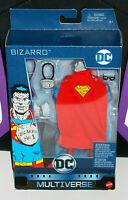 Bizarro Superman Figure DC Multiverse by Mattel, new