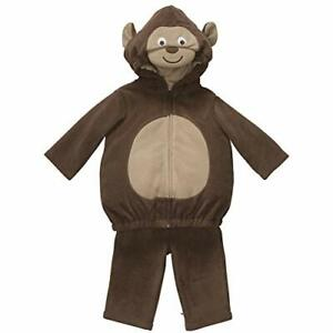 Carter's Baby Costume Monkey 2 Pieces Pants Hooded Top Brown NEW (6-9 months)