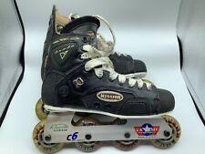 Mission Proto V 5.3 Inline Hockey Skates / Roller Blades Sz 8 Klear Kuzak 82A