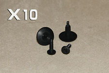 6-7MM VOLVO 240 Screw Fit in Rivet Plastic Trim Clips