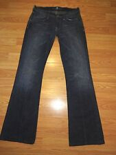 SEVEN FOR ALL MANKIND STRETCH DENIM BOOTCUT JEANS SIZE 27