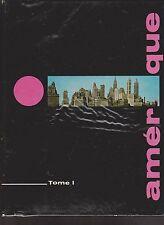 Album de chromos offert par le chèque TINTIN. L'Amérique tomes 1 et 2 - 1962/63