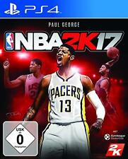 PS4 Spiel NBA 2K17 Basketball 2017 NEUWARE