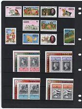 Antigua  & Barbuda QE2 small collection H.Mint/NHM