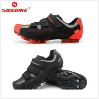 SIDEBIKE Men Athlet Cycling Bike Shoes Mountain Bike self locking shoe Sneaker
