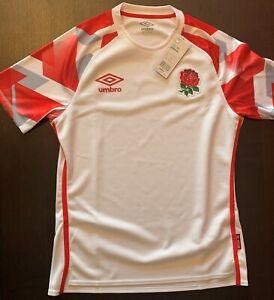 Mens Umbro England Rugby 7's Home Replica Jersey 2020/21 SS Medium