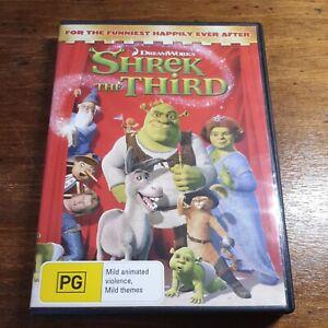 Shrek The Third  DVD R4 Like New! FREE POST