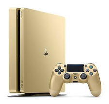 New Sony Playstation 4 Slim 1TB Limited Edition Gold Console