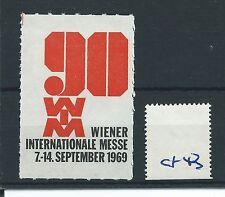 wbc. - CINDERELLA/POSTER - CF43 - EUROPE - WIENER INT. MESSE - 1969