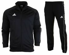 adidas Core 18 Herren Trainingsanzug Fußball Sportanzug Jogginganzug Fitness