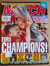 MATCH Magazine 26-05-2001 Liverpool Spectacular winner Uefa CUP  [P63]