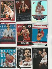 JOAKIM NOAH Lot (20) DIFFERENT CARDS W/ 7 INSERTS PARALLELS PROMO