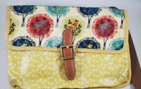 Fossil Shoulder/Cross Body Bag PVC Coated Textured Synthetic Purse
