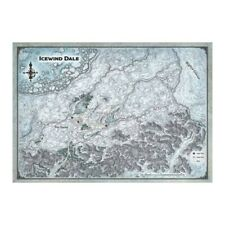 D&d Icewind Dale Map Set - Dungeons & Dragons