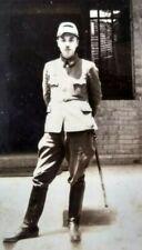 WW2 Japanese Army Soldier Uniform Sword Katana Original Vintage Photo