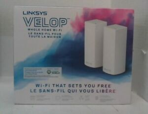 NEW Linksys WHW0302-CA Velop Tri-Band Whole Home WiFi Mesh System, 2-Pack $280