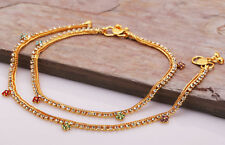 Indian Traditional Golden Tone Designer Fashion Ankle Anklets Ankle Jewellery