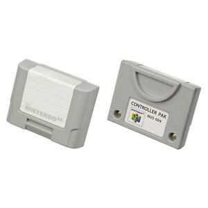 N64 Memory Pak Controller Nintendo 64 Pack (NUS-004)