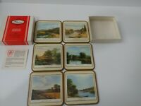 Pimpernel 6 Coaster Set Traditional Coasters