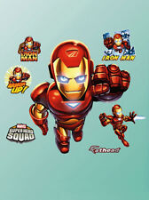 Fathead Super Hero Squad Iron Man Marvel Comics Wall Decor Brand New 96-96057