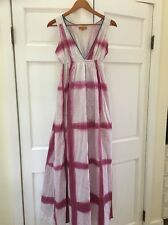 56. Roberta Roller Rabbit Freeman Sun Washed Pink Maxi Dress NWOT Xs Runs Big