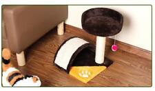 E28 Pet Cat Kitten Stand House Sisal Tree Toy Scratch Scratching Board Post