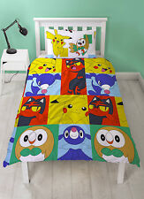 Pokemon Go Newbies Single Duvet Cover Set Rotary Design