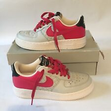 Nike Air Force 1 Womens 5.5 Pink berry & Grey 6/10/08 with box 318769-061 NICE