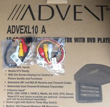*AUX In & Out Harness ONLY* Advent Overhead Dropdown Screen EXL10A DVD Audiovox