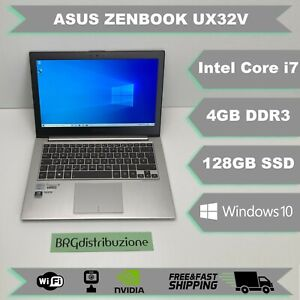Notebook ASUS ZENBOOK UX32V 13 INTEL I7 3517U 4GB RAM 128GB SSD WEBCAM NVIDIA