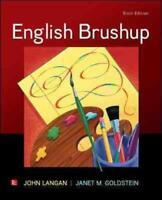 ENGLISH BRUSHUP - LANGAN, JOHN/ GOLDSTEIN, JANET M. - NEW PAPERBACK BOOK