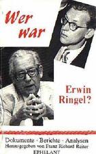Wer war Erwin Ringel?