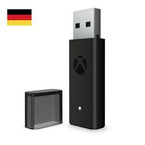 Für Wireless Xbox One Controller Adapter Empfänger Stick Windows 10 PC USB DE