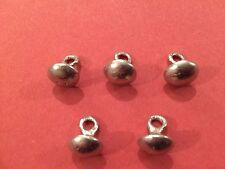 10 mm Botones De Peltre Tudor (5 Pack) - Nueva versión, Traje, historia de vida