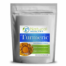 60 Turmeric Capsules - Flat pack - UK Product - High Quality Diet Supplement