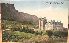 Irish Postcard Cave Hill & Belfast Castle Northern Ireland Uk Valentine Dub Scot