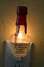 Makers Mark Whiskey Mini Liquor Bottle Night Light