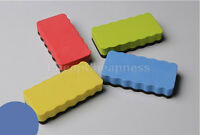 Magnetic Board Rubber Whiteboard Blackboard Cleaner Dry Marker Eraser Office FH
