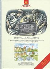 GB - ROYAL MAIL POSTERS - A4 - 1989 - INDUSTRIAL ARCHAEOLOGY - MINIATURE SHEET