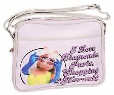 THE MUPPETS SMALL SHOULDER BAG - Miss Piggy Pink Messenger Handbag
