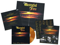 "MERCYFUL FATE - INTO THE UNKNOWN, ""DAWN RED SKY"" COLOURED vinyl LP, 300 COPIES!"