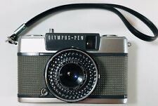 Olympus pen EES-2 half-frame point and shoot Vintage camera. D. Zuiko Lens Japan