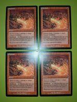 Firebolt x4 - Odyssey - Magic the Gathering MTG 4x Playset