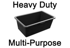 40L / 60L / 90L Multi Purpose Tub Horse Water Trough Storage container