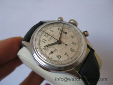 RARE CONCORD MILITARY CHRONOGRAPH WATCH WITH VALJOUX 23 MOVEMENT 35MM SERVICED!