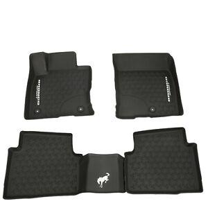 NEW OEM 2021 Ford Bronco Sport Tray Style Molded Black Floor Mats Set Genuine